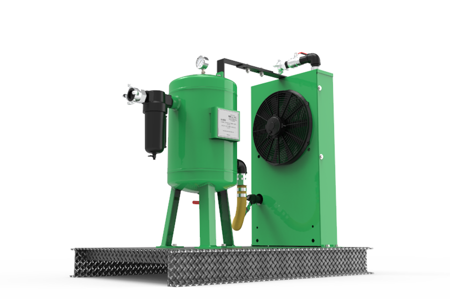 ADCS-1500 air drying and cooling system