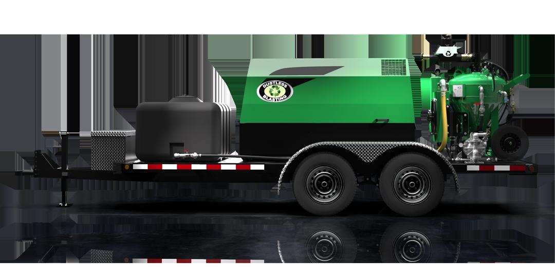 DB500 Mobile S equipment on trailer