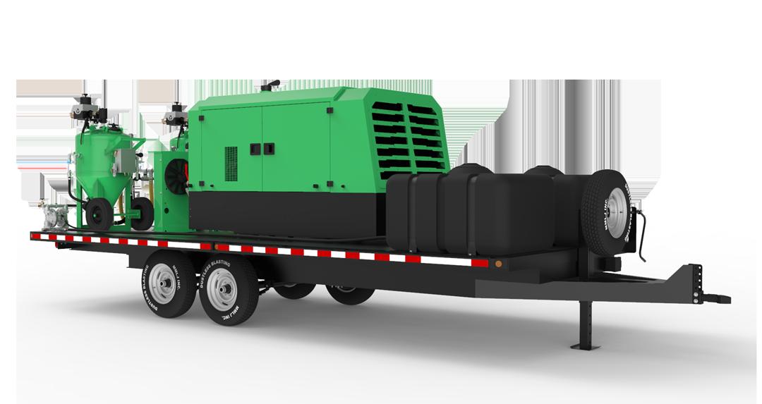 db800 mobile dual xxl trailer