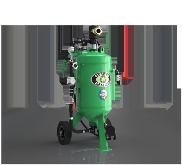 db150 abrasive blast pot