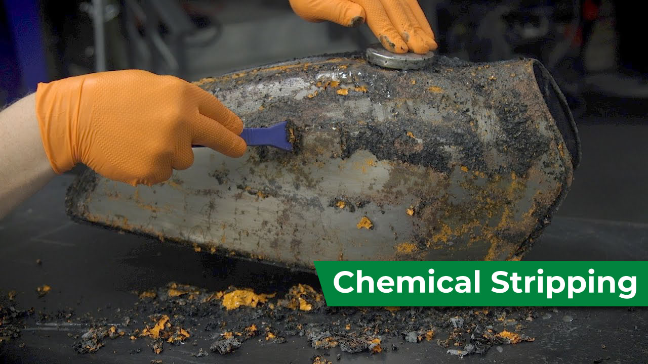 Chemical-stripping