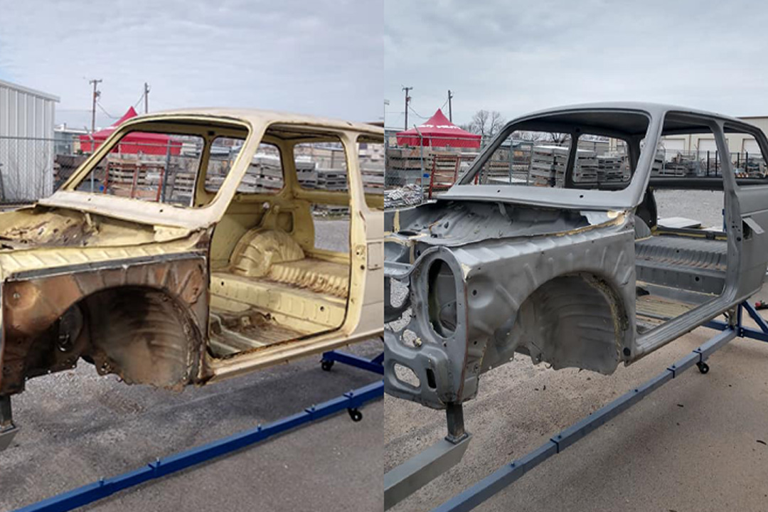 1970s honda paint removal