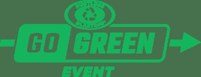 go green logo green