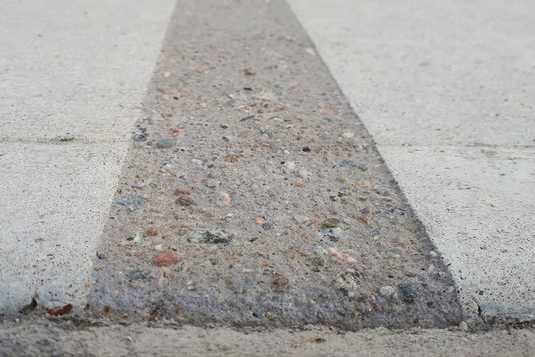 concrete etching with exposed aggregate