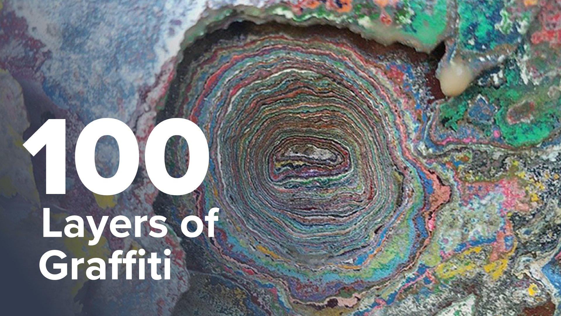 100 Layers of Graffiti