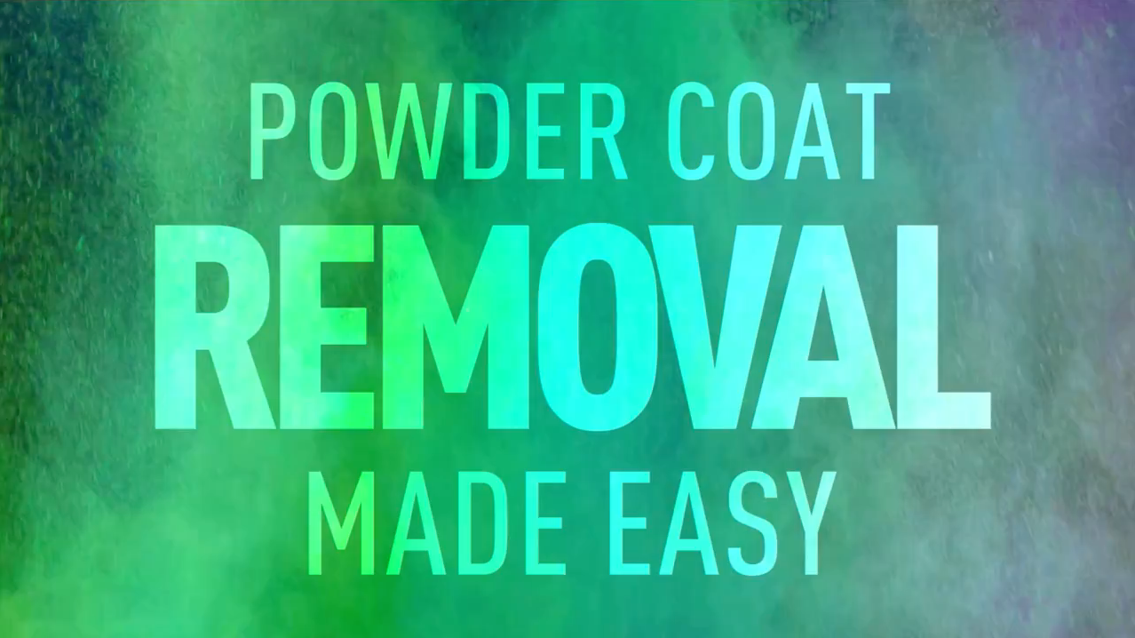 The Best Tool to Remove Powder Coating! Thumbnail