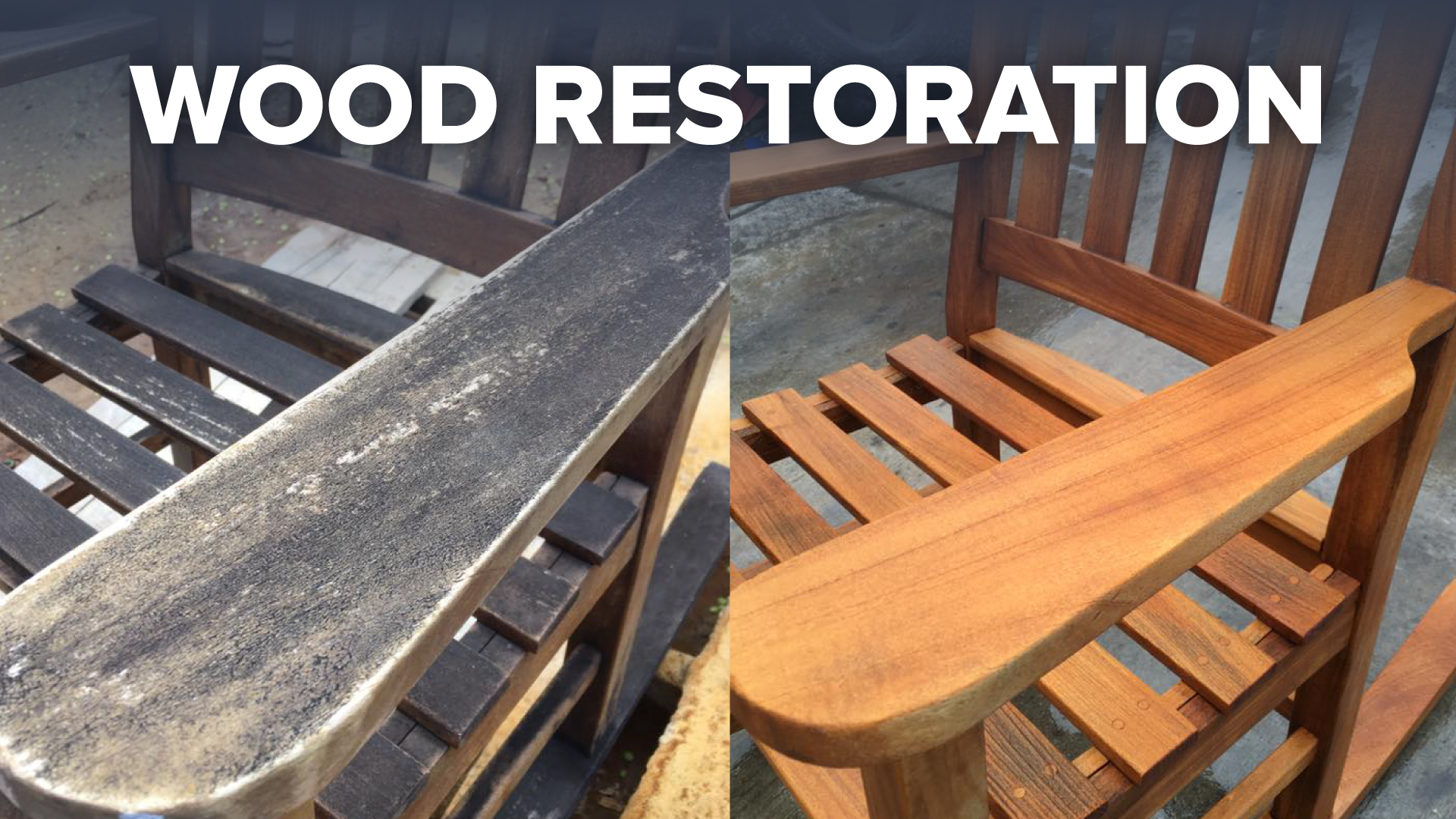 Wood Restoration and Etching
