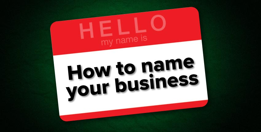 How To Name Your Blasting Business