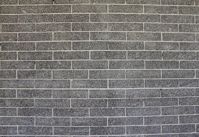 brick wall after asbestos abatement
