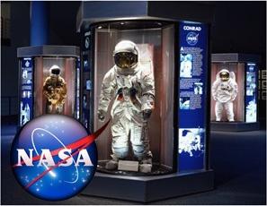 Astronaut Suit at Nasa Houston Space Center