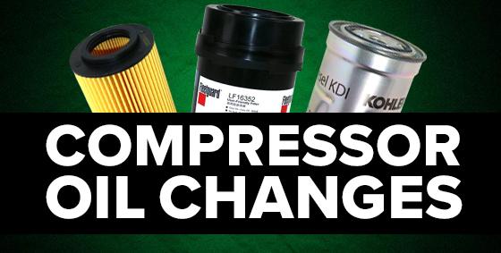 compressor oil changes