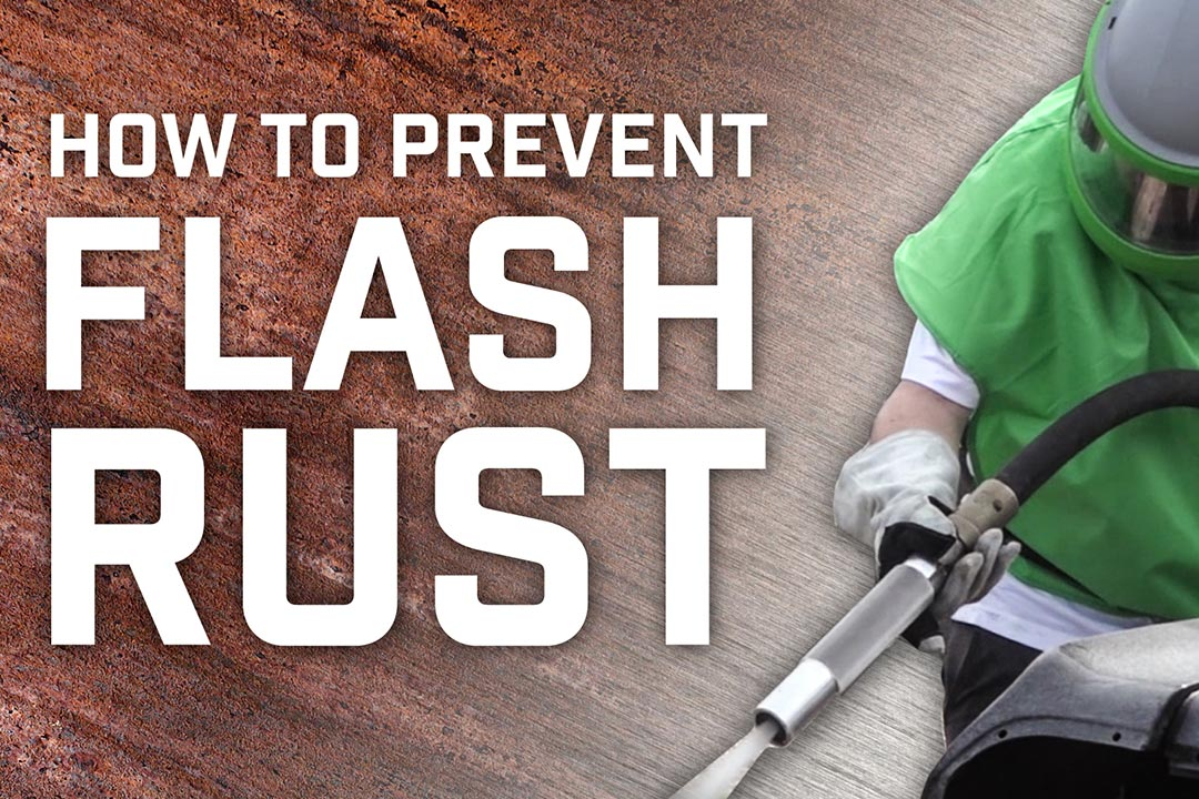 how to prevent flash rust