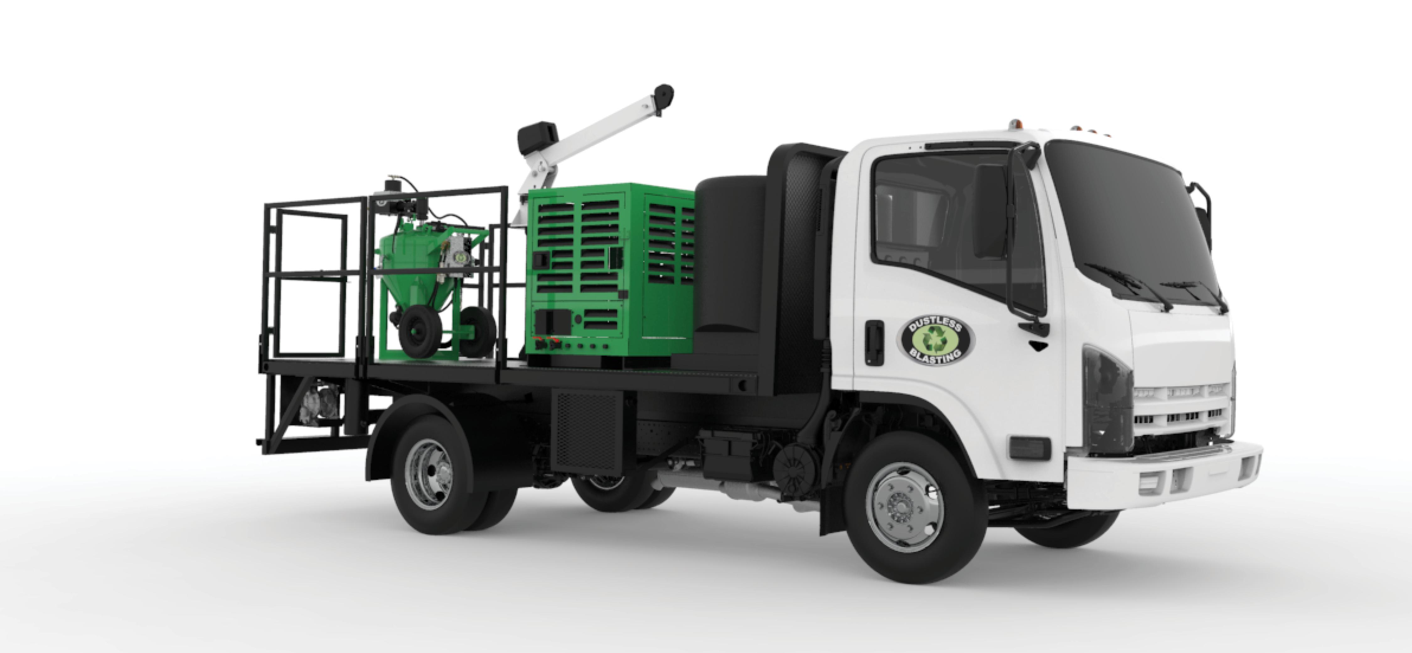 DB500 Gas Truck
